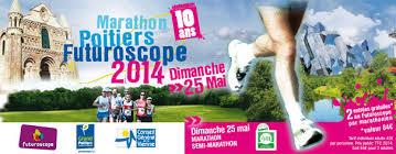 Semi et marathon du Futuroscope 2014