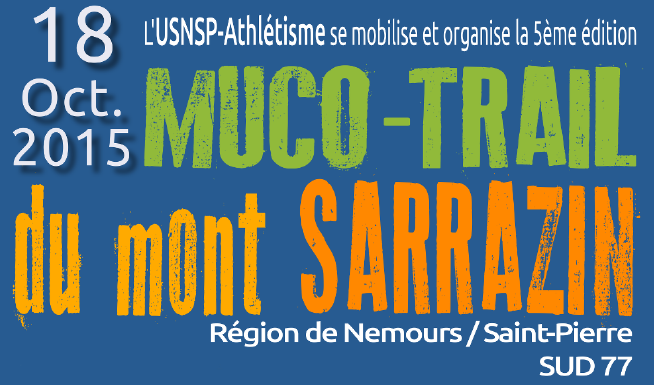 Photos 2015 : Muco Trail du mont SARRAZIN