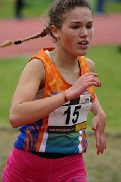 Charline Simard sur 1500 m