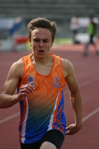 Clément au 100m