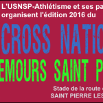 Inscription au cross de Nemours édition 2016