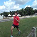 Florian Carvalho reprise de l'entraînement