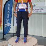 Championne de France Masters en salle