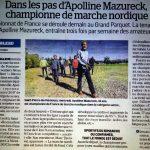Dans les pas d'Appoline Mazureck