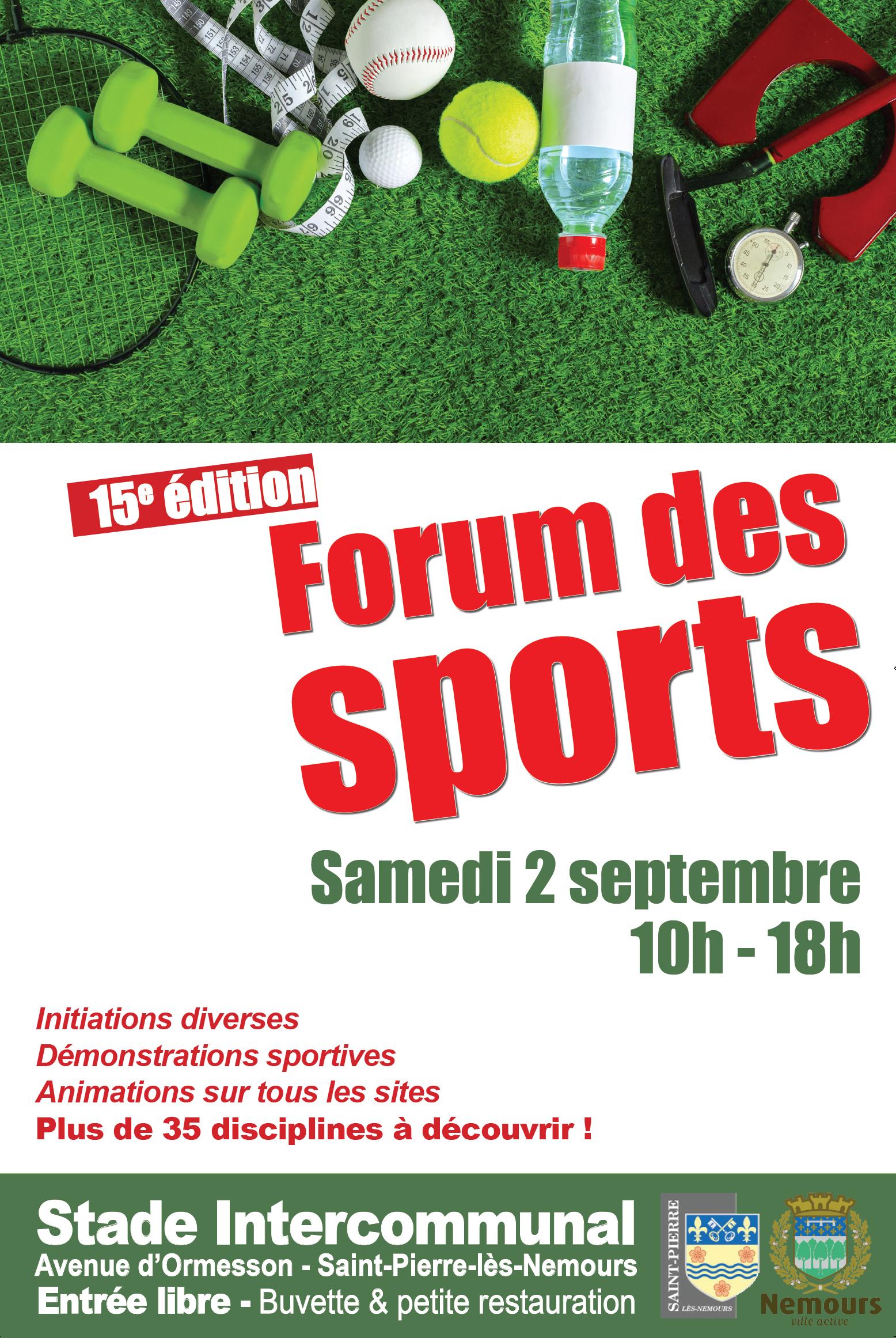 Forum Du Sport Nemours Saint Pierre 02 Septembre Au Stade Usnspa